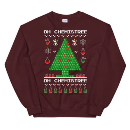 Chemistree sweater maroon