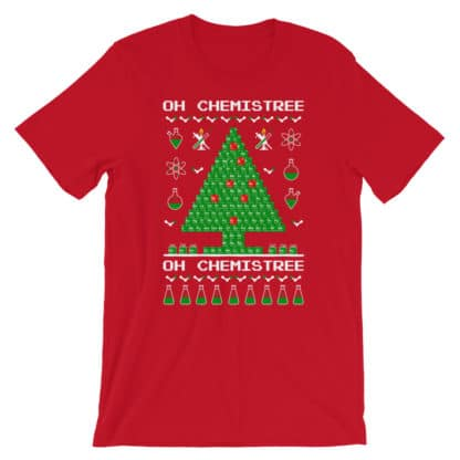 Chemistree t-shirt red