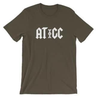 AC/DC DNA t-shirt army