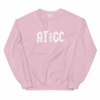 AC/DC DNA sweatshirt pink
