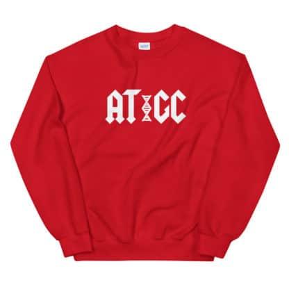 AC/DC DNA sweatshirt Red