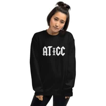 AC/DC DNA sweatshirt model
